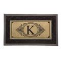 Monogram K Insert Mat