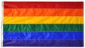"""24"""" x 36"""" Rainbow Flag"""
