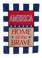 Burlap American Home of the Brave