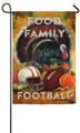 Food Family Football Garden Flag
