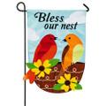 Bless Our Nest Garden Flag