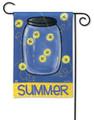 Summer Fireflies Garden Flag