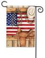 American Cowboy Garden Flag