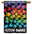 Autism Aware DS Flag
