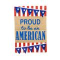American Pennant Garden Flag