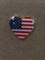 U.S. Heart Lapel Pin