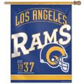 "27"" x 37"" Los Angeles Rams Retro Classic Logo Banner"
