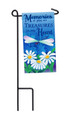 Treasures in My Heart Mini Garden Flag