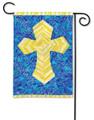 Mosaic Cross Garden Flag