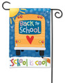 School is Cool Garden Flag