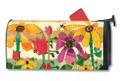 Flower Garden Mailwrap