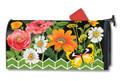 Fancy Floral Mailwrap