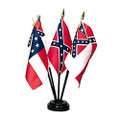 "4 x 6"" Flags of Confederacy Set"