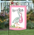 Its A Girl Garden Flag