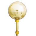 "3"" Gold Anodized Aluminium Ball"