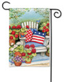 Patriotic Pillows Garden Flag