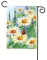Shasta Daisies Garden Flag