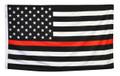 3' x 5' Thin Red Line U.S. Flag