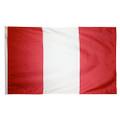 "12"" x 18"" Peru Flag (Civil- No Seal)"
