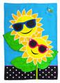 Fancy Sunny Day Garden Flag