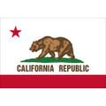 3' x 5' E- Poly California Flag