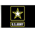 3' x 5' Nyl-Glo US Army Logo Flag