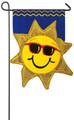 Summer Sunshine Garden Flag