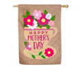 Burlap Happy Mother's Day Banner