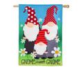 Burlap Gnome Sweet Gnome Banner