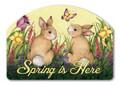 Springtime Bunny Yard Design