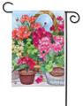 Geranium Variety Garden Flag