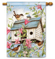 Spring Birdhouse with Clematis