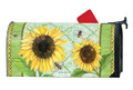 Single Sunflower Mailwrap