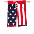 Americana Boardshorts Applique Banner