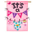 It's a Girl  Applique Banner