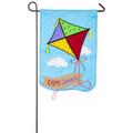 Kite  Applique Garden Flag