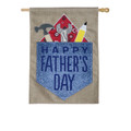 Happy Father's Day Burlap Banner