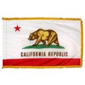 Indoor California State Flag