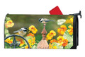 Chickadee Fence Post Mailwrap