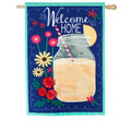 Welcome Home Linen Banner
