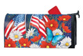 Red, White, and Blue Mailwrap