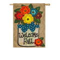 Welcome Fall Burlap Banner