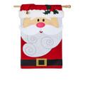 Santa Claus Applique Banner