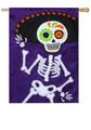Skeleton Party Banner