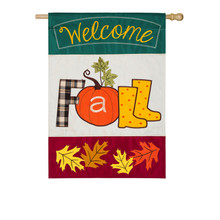 welcome fall harvest banner the flag shop