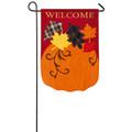 Welcome Fall Pumpkin Garden Flag
