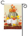 Neutral Pumpkins Garden Flag