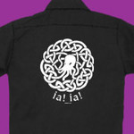Cthulhu celtic knot workshirt