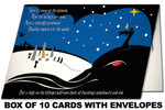 Lovecraft Yule Horror holiday cards (set of 10)