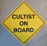 Cultist on Board (STICKER)